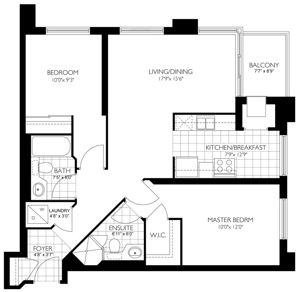 155 Beecroft Rd Unit 271, Toronto Floorplan