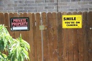 Real Estate Problem Crazy Property Line Neighbor