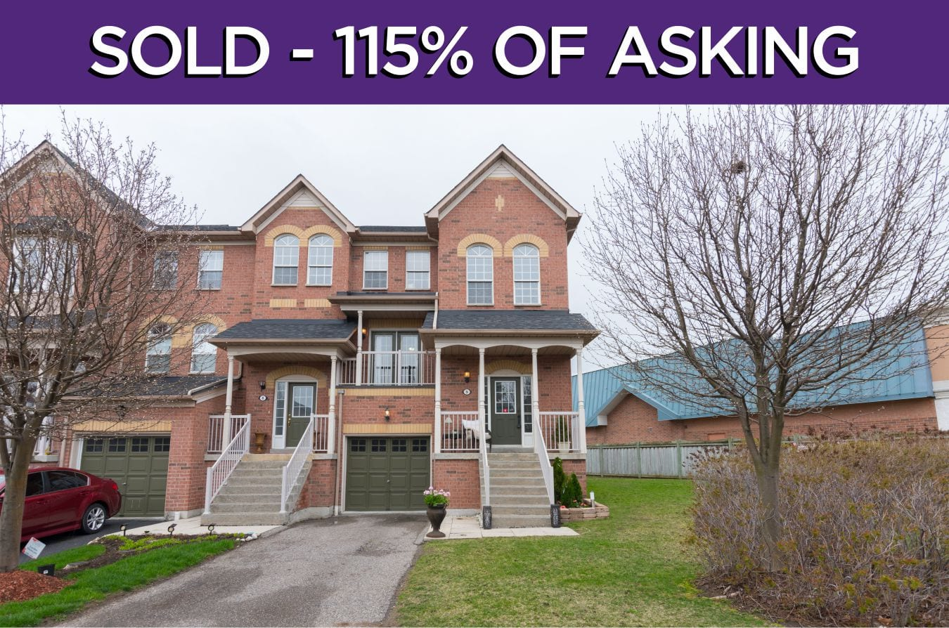 575 Steeple Hill - Sold for 115% of asking in Pickering!