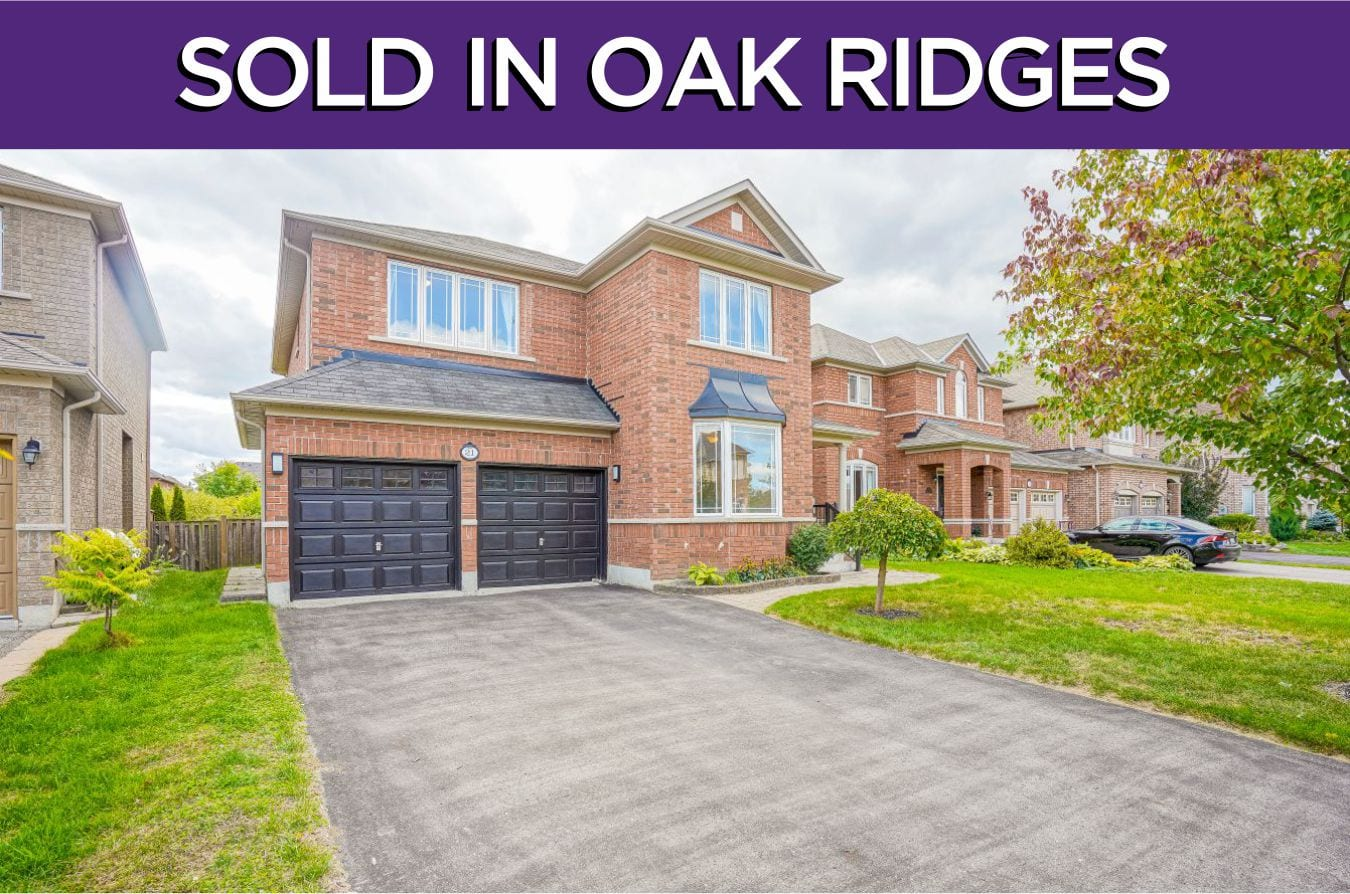 21 Greyfriars Avenue - Sold By The Oak Ridges Real Estate Experts