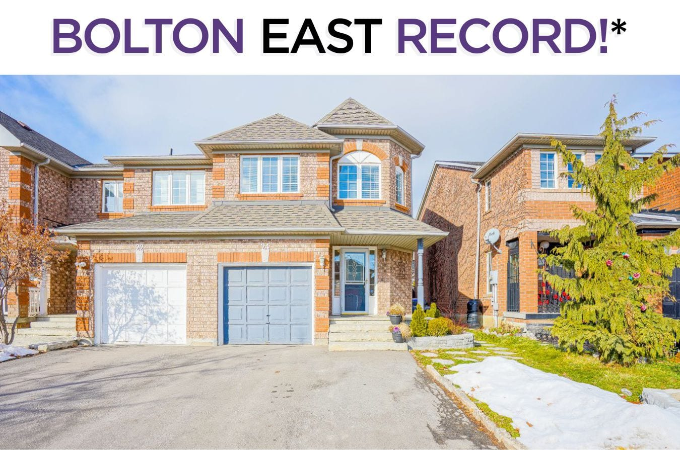 24 Sheardown Trail - Sold For Highest Price Ever In Bolton East By Caledon Real Estate Specialists