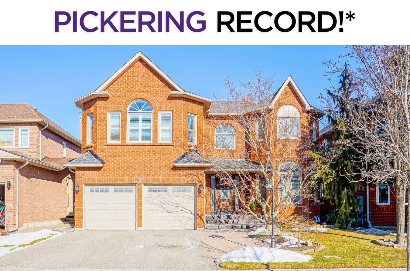 286 Stover Crescent - Sold By The Pickering Real Estate Specialists