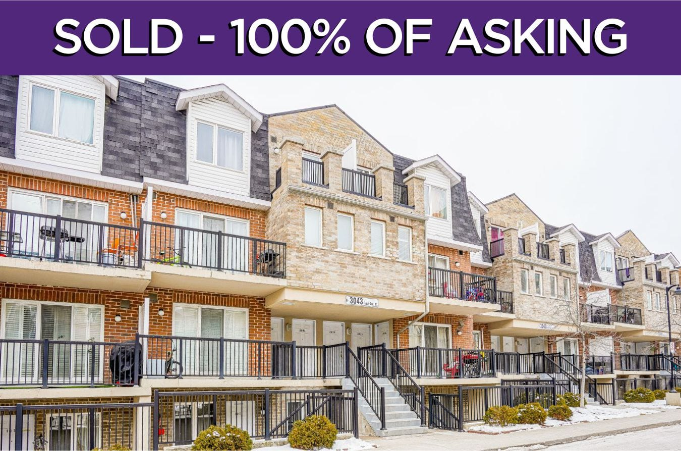 3043 Finch Avenue Unit 2034 - Sold By The Toronto Real Estate Specialists