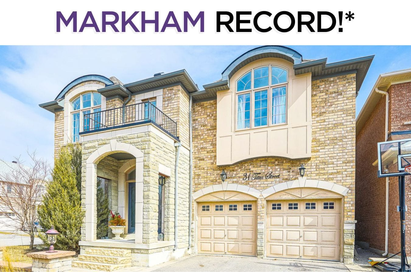 31 Titus Street - Sold By The Markham Real Estate Specialists