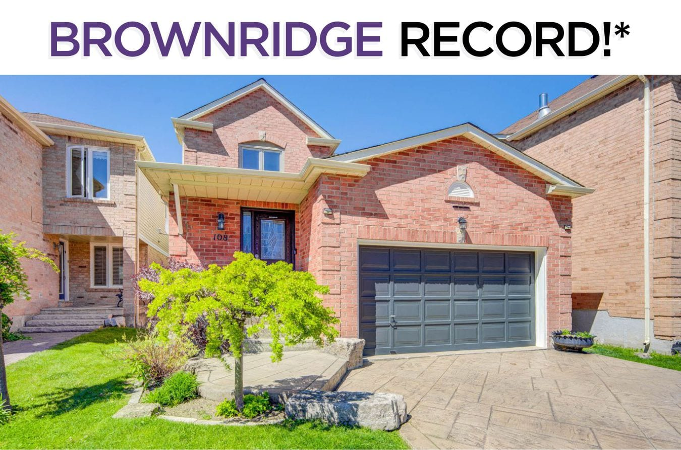 108 Brownridge Drive -Sold By The Brownridge Real Estate Experts