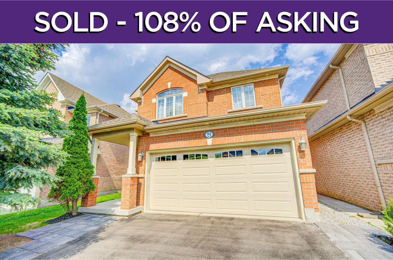 21 Daphnia Drive - Sold By The Thornhill Woods Real Estate Team