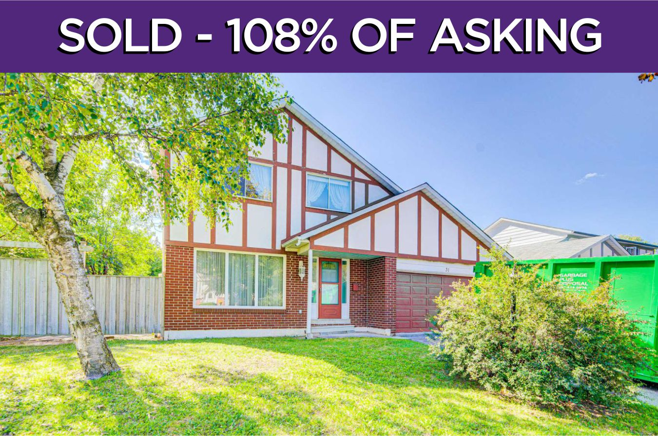 31 Hamilton Hall Drive - Sold By The Markham Village Real Estate Team