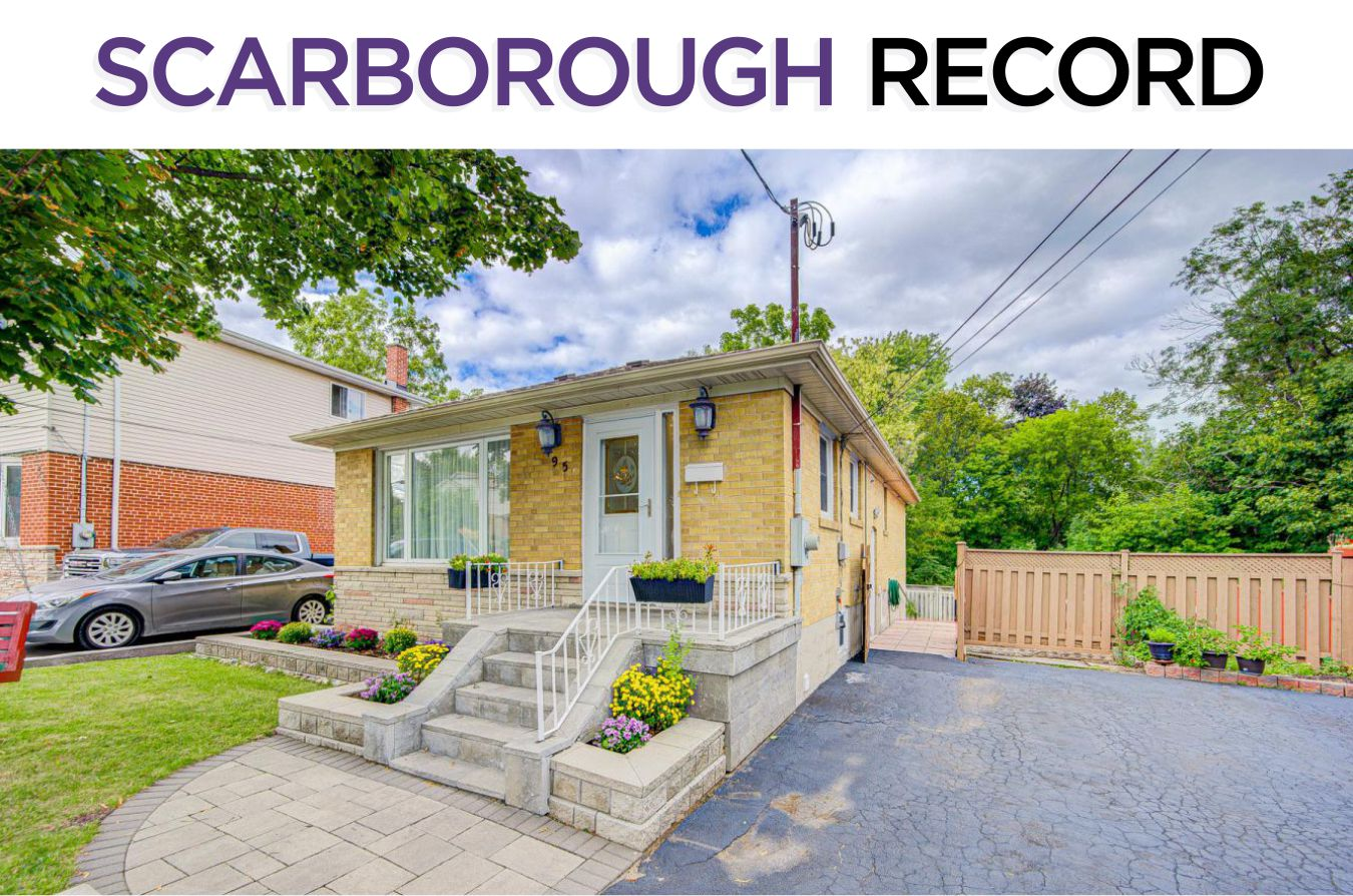 95 Mossbank Drive - Sold By The Scarborough Real Estate Specialists