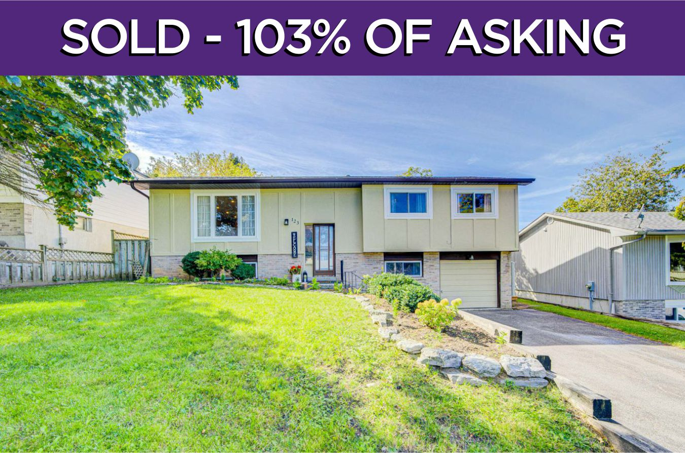 123 Hillside Crescent - Sold By The Cannington Real Estate Team